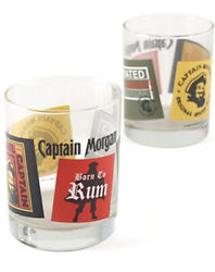 Libbey Captain Morgan Double Old-fashioned Glasses, Set Of 4 13oz Tumblers
