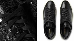 Tom Ford Warwick Lizard Sneakers Shoes Sneakers Trainers 12/46
