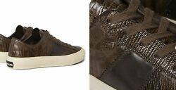 Tom Ford Cambridge Lizard Eidechse Sneakers Shoes Sneakers Trainers 45