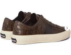 Tom Ford Cambridge Lizard Eidechse Sneakers Shoes Sneakers Trainers 43+