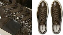 Tom Ford Cambridge Lizard Eidechse Sneakers Shoes Sneakers Trainers 44+