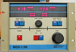 Ae Advanced Energy Mdx 1.5k 2164-005f Dc Magnetron Power Supply Used Working
