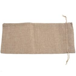 50x10pcs Jute Wine Bags 14 X 6 1/4 Inches Hessian Wine Bottle Gift Bags With