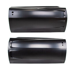 Set Of 2 Lh And Rh Side Door Shell Frame Assembly Amd Fits Dodge Charger