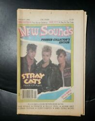 New Sounds Magazine -lot Of 4-premiere Issue + 3, Collector Quality