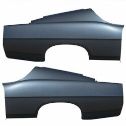 Rear Set Of 2 Lh And Rh Side Quarter Panel Fastback Fits Ford Fairlane