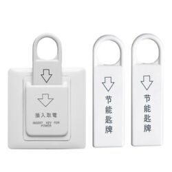 50xhigh Grade Hotel Magnetic Card Switch Energy Saving Switch Insert Key For