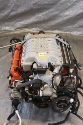 2019 Dodge Charger 4dr Srt Hellcat Oem Engine And 8hp-90 Auto Transmission Swap