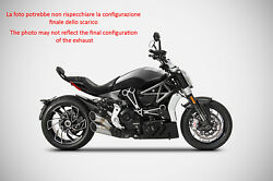 Exhaust Zard Stainless Steel Ceramic Approved Ducati Xdiavel 2016-19