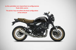 Exhaust Zard Stainless Steel A Spicchi Racing Kawasaki Z900 Rs 2018-19