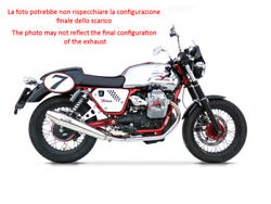Exhaust Zard Steel-steel Ceramic Approved Moto Guzzi V7 Cafeand039 Classic