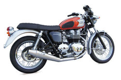 Exhaust Zard Steel-steel Black Low Injection Racing Triumph Scrambler
