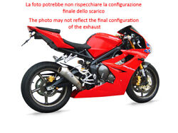 Exhaust 2 1 Zard Steel Conical Approved Triumph Daytona 675 2009