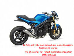 Exhaust Zard Steel-carb Black Conical Racing Triumph Speed Triple 1050