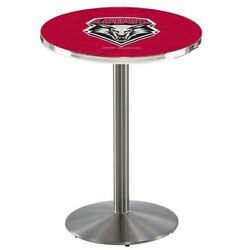 Holland Bar Stool Co. L214s4236newmex 42 Stainless Steel New Mexico Pub