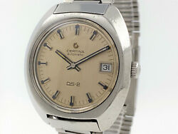Certina Ds-2 Automatic Turtle Back Silver Dial Ref. 5801 300 Cal. 25-651 Tr39