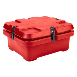 Cambro 240mpc158 Camcarrier 2-1/2 Hot Red