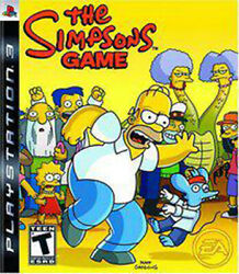 The Simpsons Game Ln Pre-owned Playstation 3