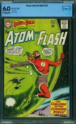 Brave And The Bold 53 Cbcs 6.0 -- 1964 -- Flash Atom Expanding World Cover