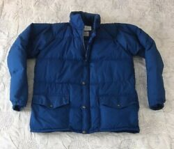 Vintage Class 5 Mountaineering Equipage San Francisco Goose Down Parka Xl