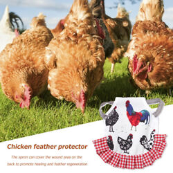 Chicken Clothes Chicken Saddle for Hens Pet Feather Protector Chicken Saddles