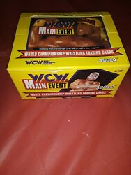 1995 Wcw Main Event World Championship Wrestling Trading Cards Full Box New139