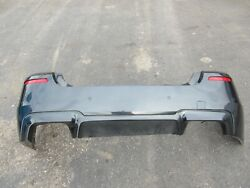 Oem 2011-2016 Bmw F10 M5 And 5-series M-package Pdc Rear Bumper Cover 17330