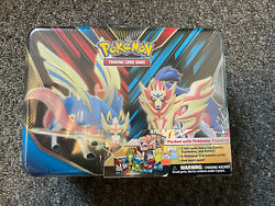 Pokemon Card Collectors Chest Tin Sealed - Spring 2020 -5 Booster Packs 3 Promos