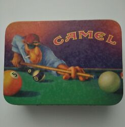 Joe Camel Pool Zippo Lighter In The Tin Excellent Condition