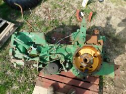 John Deere 3020 Tractor Complete Rear End W/rock Shaft, 1 Remote, Pto Tag 9801