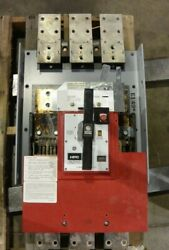 General Electric Thpc3620b 2000 Amp 600 Volt 3 Pole High Pressure Contact Switch