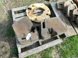 Allis Chalmers 7000 Series Tractor Front Suitcase Weights 15 Tag 914