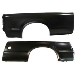 Capa 99-10 F-series Truck 8and039 Bed Rear Outer Quarter Panel Left And Right Set Pair