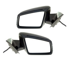 10-16 Benz E-class Rear View Mirror Power Heat W/memory And Turn Signal Set Pair