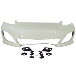 10-13 Panamera W/sport Front Bumper Cover Assembly Primed Po1000175 97050591127
