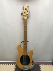 U44476 Musicman [stingray 4 Natural] Good Used Electric Bass
