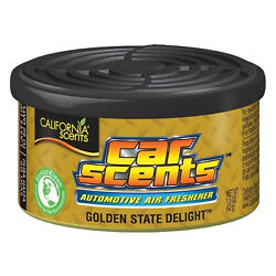 California Scents Car Air Freshener Golden State Organic Fragrance Vented Lids