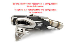 Double Exhaust Penta Zard Steel-carb Approved Ducati Hypermotard 1100 Evo 10-12