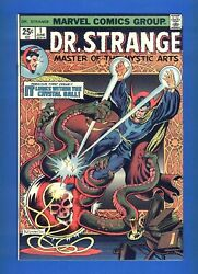 Dr. Strange 1 High Grade Nm-mt White Pages Silver Dagger First Appearance 1974