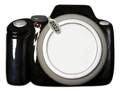 Camera Ornament Photographer Gift Christmas Tree Ornaments 2021 To Personalize