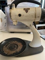 Antique Sunbeam Mixmaster Stand Mixer And Attachments From Early 1950andrsquos