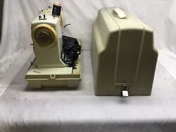 Vintage Sears Kenmore Model 158-14001 Portable Sewing Machine With Hard Case