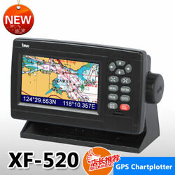 5 Inch Color Lcd Marie Gps Chart Plotter Xf-520 Free Xinuo Map