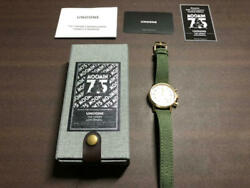 Undone Used 75th Anniv Watch Moomin Valley Summer Festival Limited 10