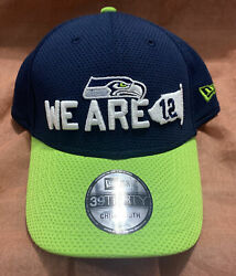 Seattle Seahawks Child Kids Hat Cap New Era Youth 39thirty 3930 We Are 12 Nfl