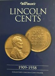 1909-1958 1909 S Vdb Pcgs Certified Complete Album Lincoln Wheat Pennies