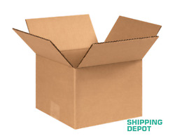 Pick Qty 25-100 8x8x6 Cardboard Boxes Mailing Packing Shipping Box Corrugated