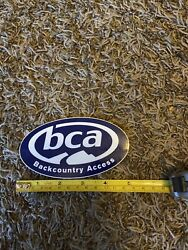 """Bca Back Country Access Logo Ski Skis Snow Outdoor Sticker/decal Approx 5"""""""