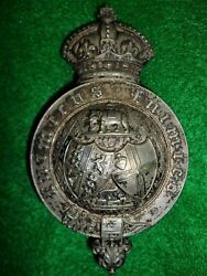 Great Indian Peninsula Railway Vol. Rifle Corps Officer's Pouch Belt Plate Badge