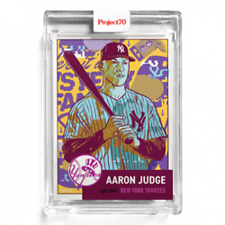2021 Topps Project 70andreg Card 123 - 1953 Aaron Judge By Morning Breath - In-hand